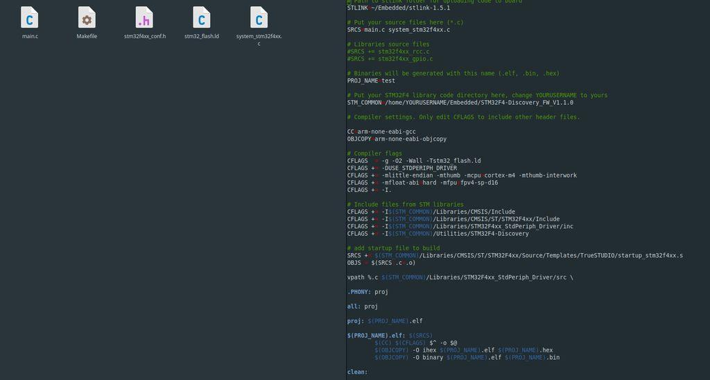 怎样在Linux上开发STM32程序