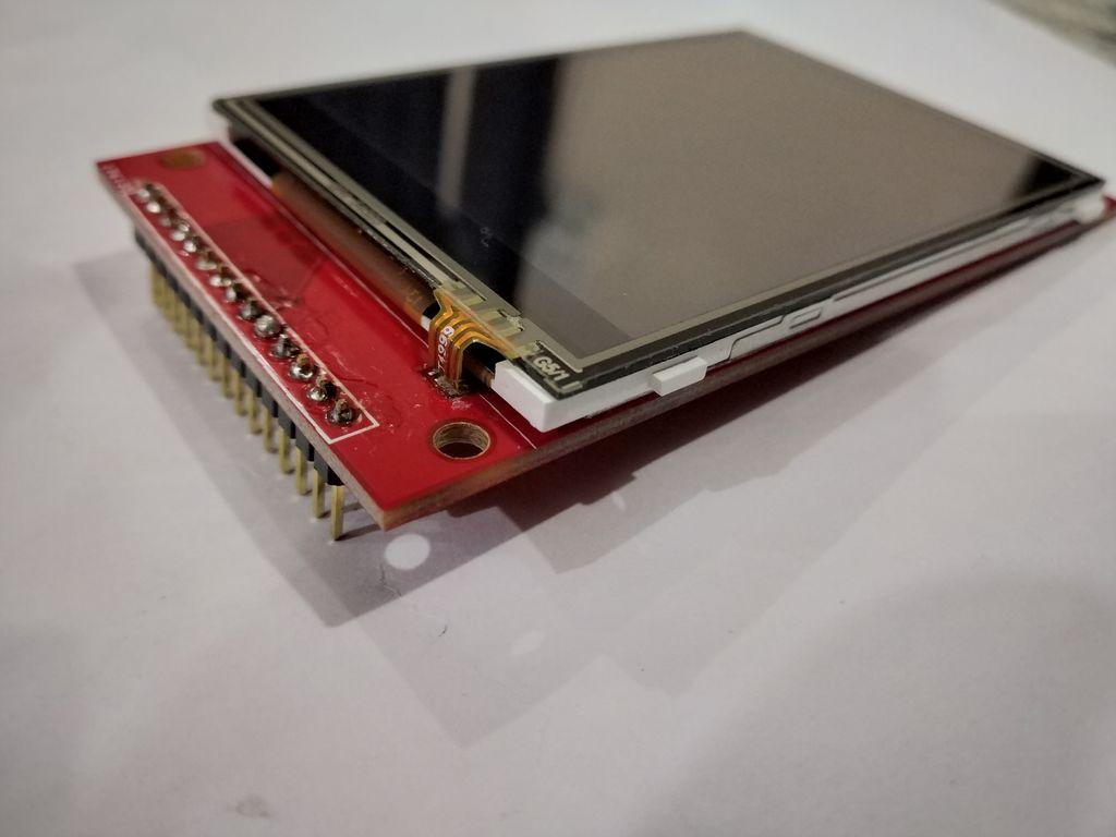 怎样将具有ILI9341芯片的2.8英寸SPI TFT与Arduino Uno连接