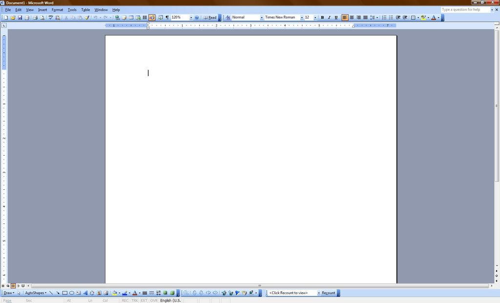 如何使Microsoft Word崩溃