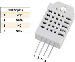 如何使用esp8266以显示智能手机或平板电脑上的温度和湿度DHT22传感器