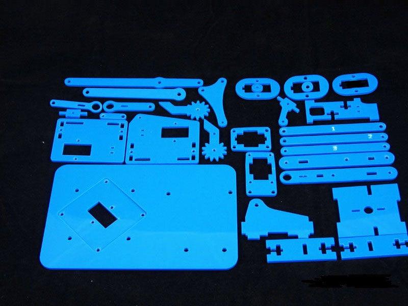 袖珍型机械臂DIY图解