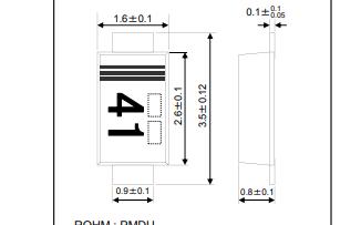 RB068MM-40肖特基栅栏二极管的数据手册免费下载