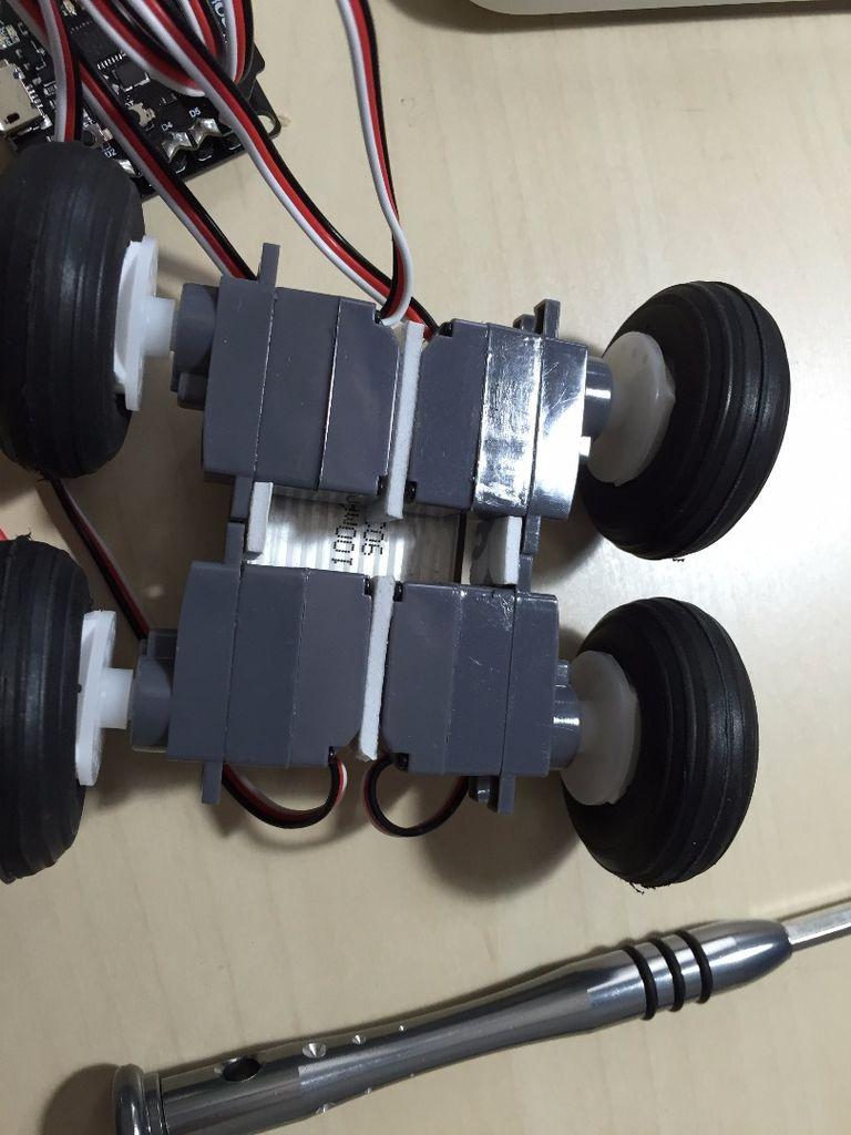 基于Arduino的4WD蓝牙微型机器人