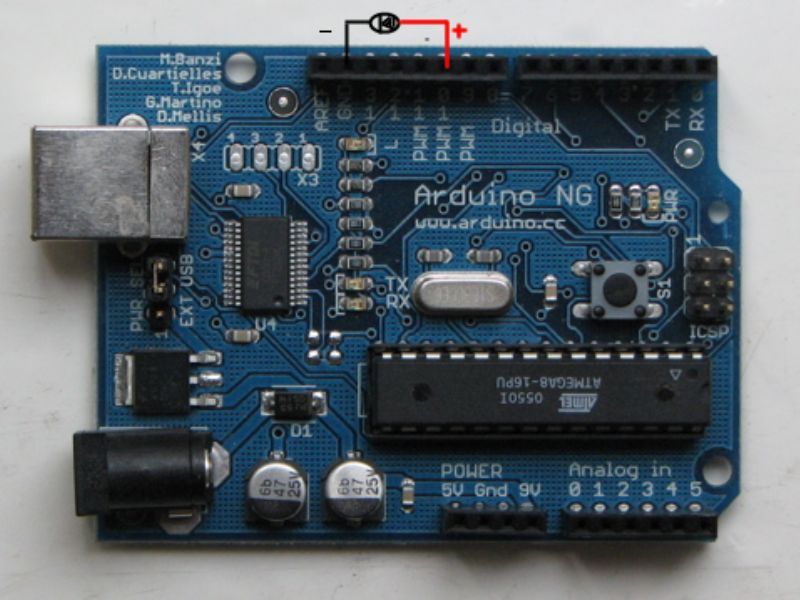Arduino閃爍LED的教程