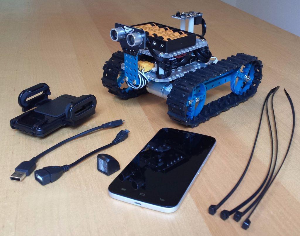 怎样用Android手机制作多功能智能机器人
