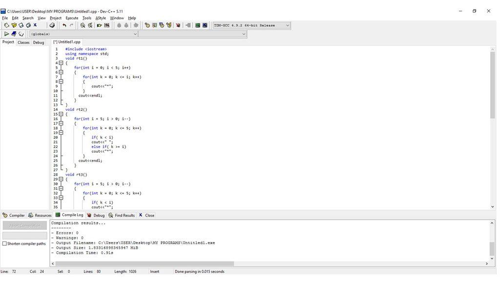如何用C++创建形状