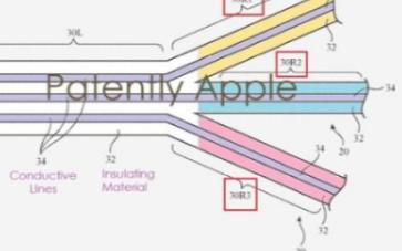 苹果发布最新基于嵌入式的电路织物专利