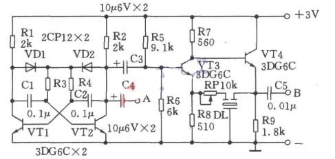 利用陶瓷滤波器3L465构成的中频信号发生器的工...