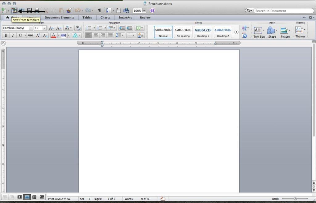 如何在Microsoft Word中制作高质量的小册子