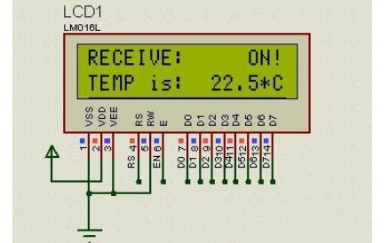使用LCD1602显示温度和使用串口接收温度的源代码和工程文件免费下载