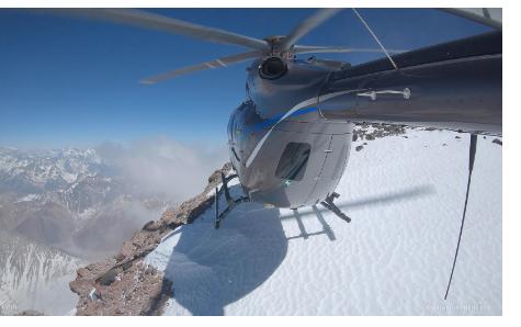 空中客車H145輕型雙發直升機完成了海拔6962米的飛行測試