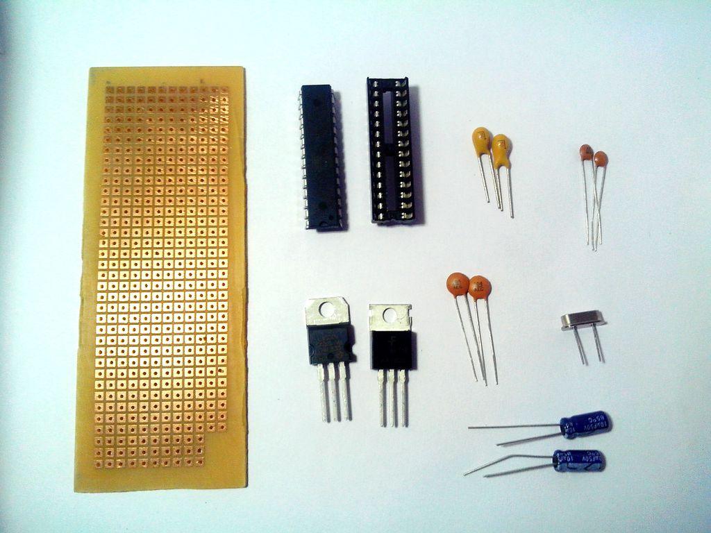 如何使用atmeg328IC構建Arduino