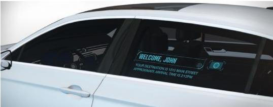 使用透明窗显示创建人车沟通