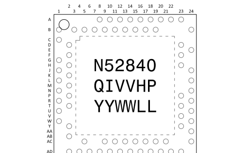 NRF52840蓝牙5.0模块芯片的数据手册免费下载