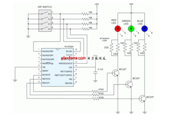 大功率發光管和小功率發光管制做方法介紹