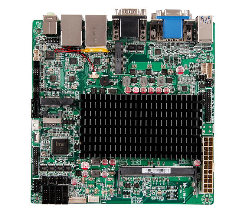 淩壹科技ZO-3855UP-6CD8嵌入式主板分析