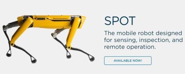 波士顿动力的Spot四足机器人正式面向市场,售价...
