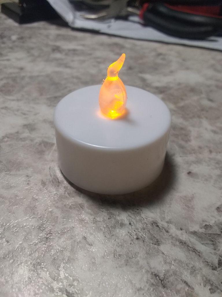怎样改装LED茶灯