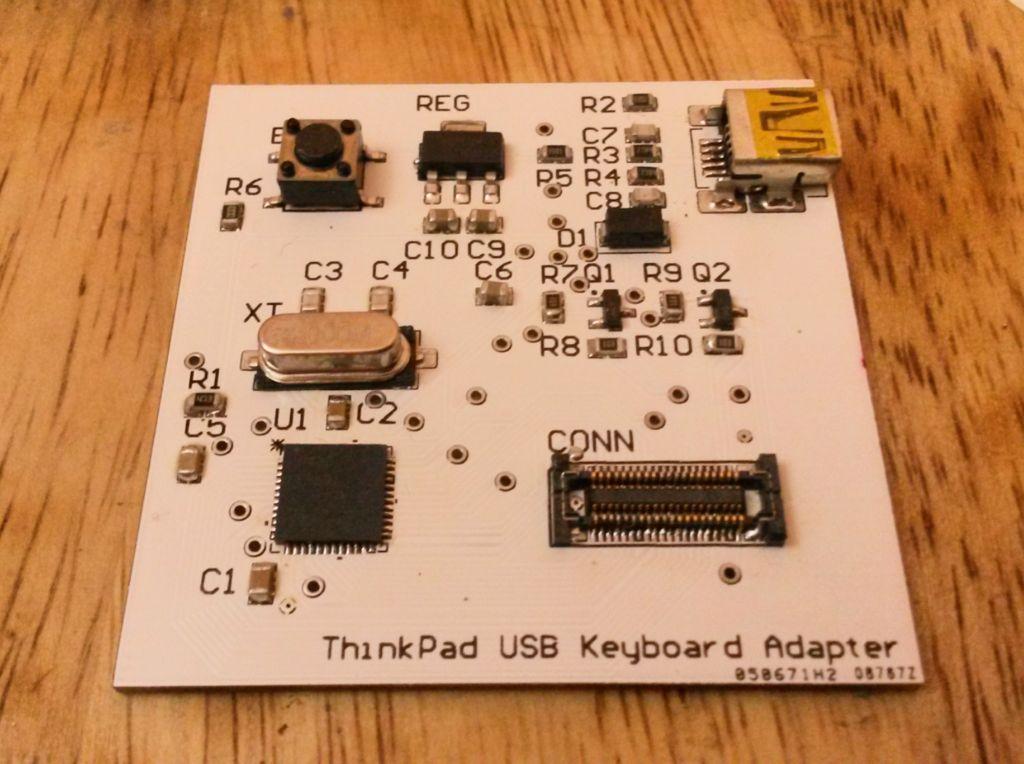 怎样制作更好的ThinkPad USB键盘适配器