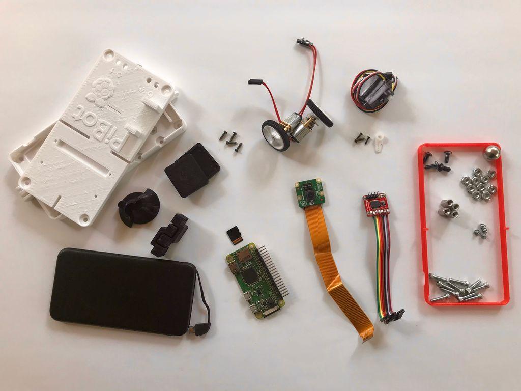 如何3D打印树莓派机器人