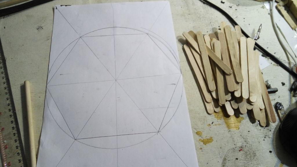 六角LED面板的制作教程