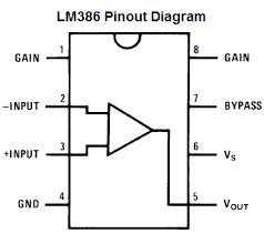 带有面包板PCB的LM386迷你放大器的制作