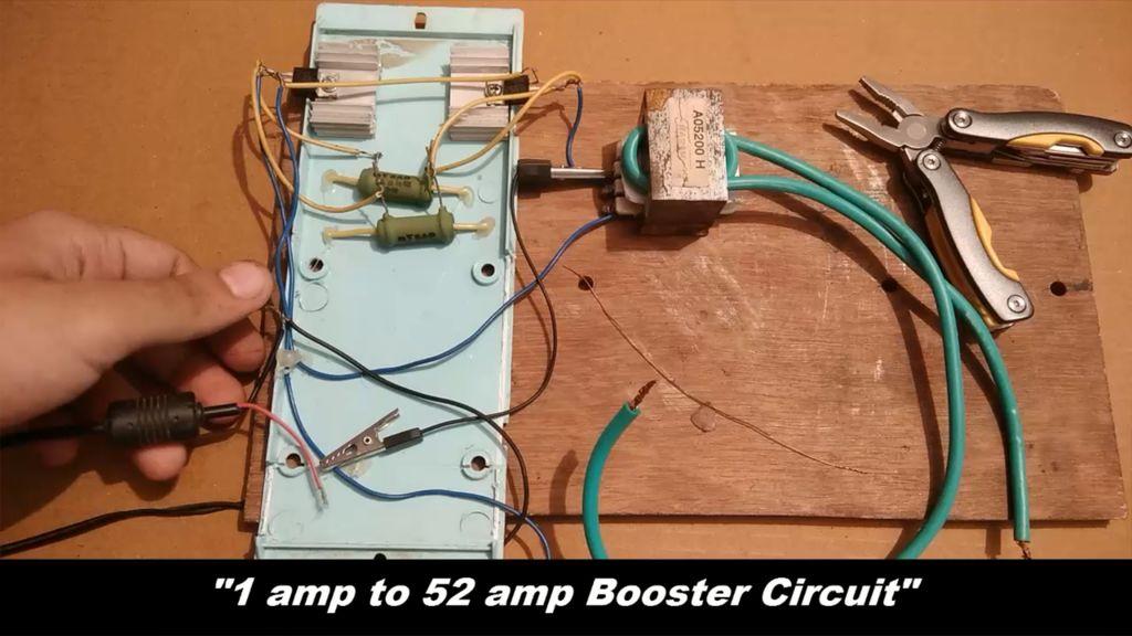 如何制作极端电流升压电路