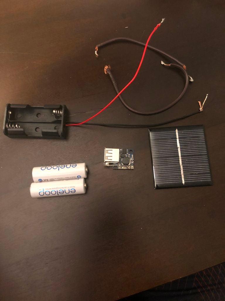 太阳能充电器DIY图解