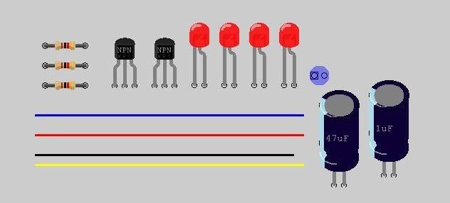 声光控制电路的制作