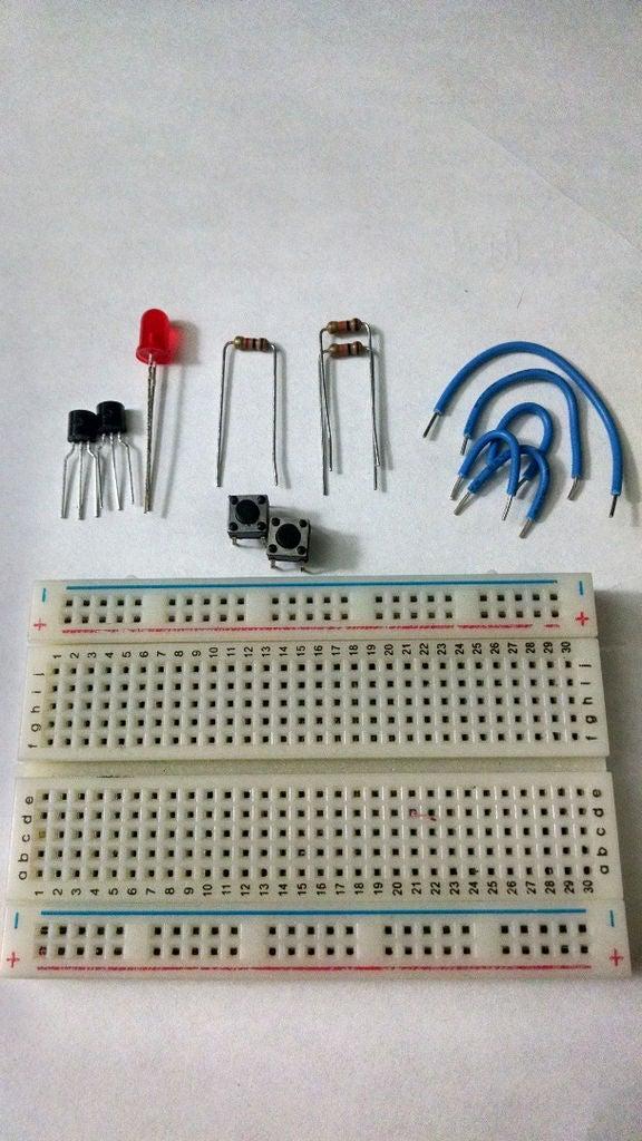 如何从NPN晶体管构建NAND门