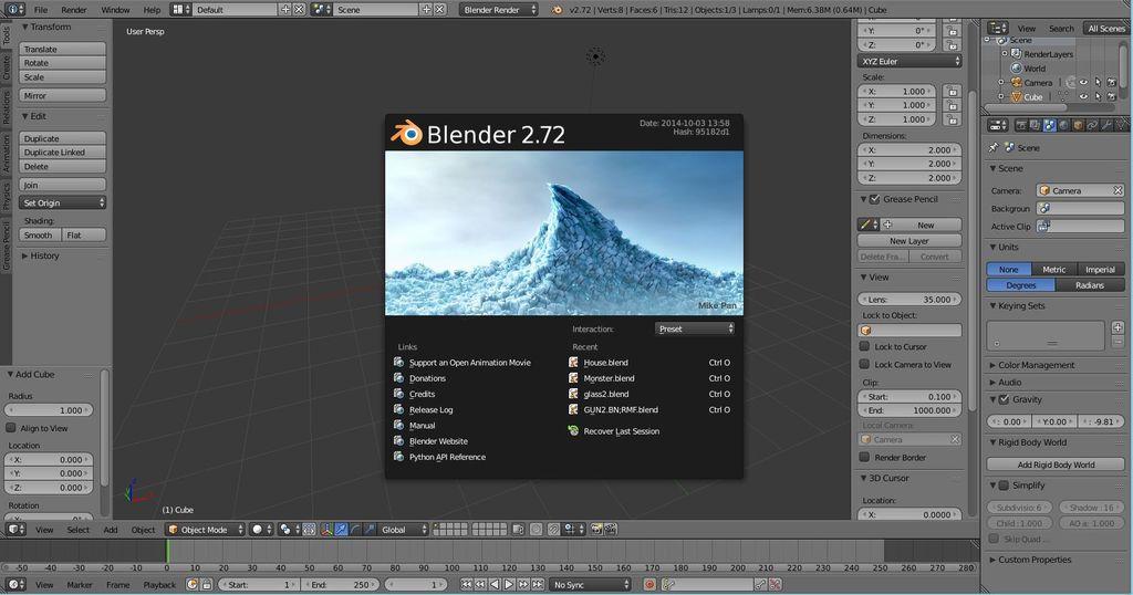 怎样在Blender中为徽标建模