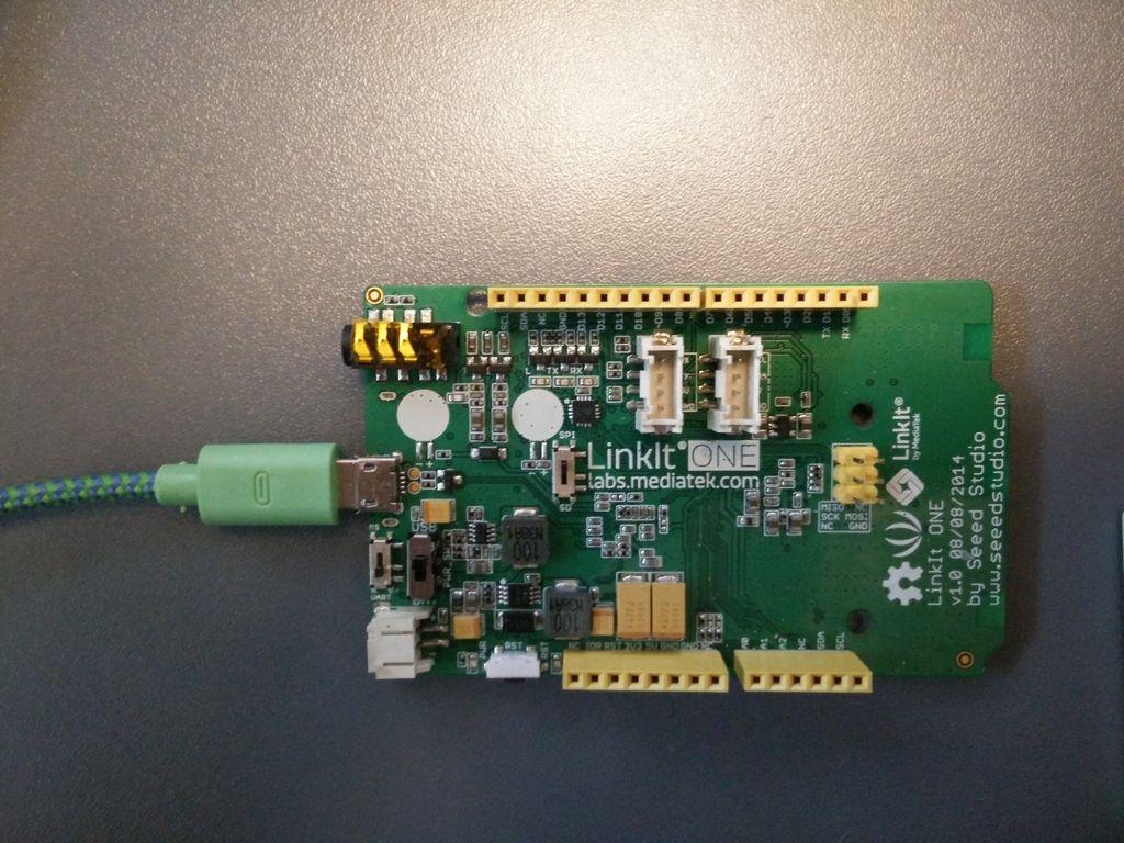 如何使用LinkIt ONE微控制器创建雷达