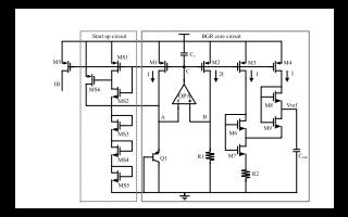 使用亚阈值MOS晶体管和单BJT实现的带隙基准电压源论文免费下载
