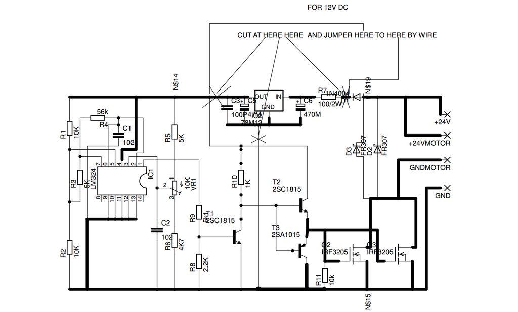 如何制作具有12V 15A开关PSU的可弯曲轴Dremel工具