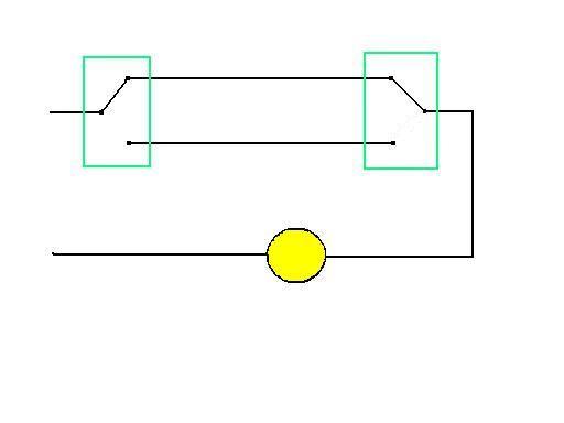 三向和四向开关的工作方式