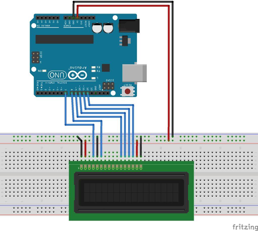 如何使用中断将消息写入LCD屏幕