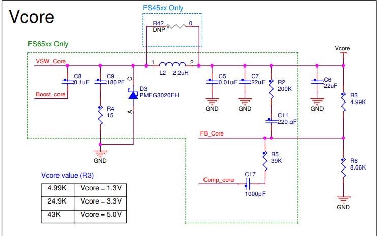 MC33FS6523CAE DCDC轉換控制器的電路原理圖合集免費下載