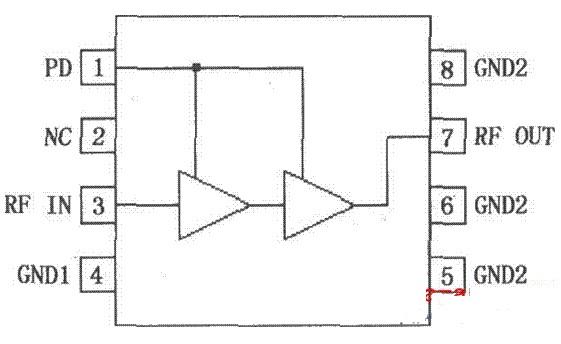 RF2324线性RF放大器的引脚功能及应用电路分...