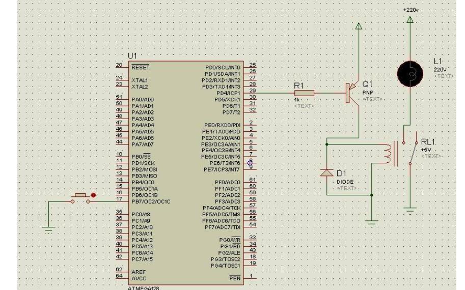 使用Proteus仿真辅助继电器的详细实例说明
