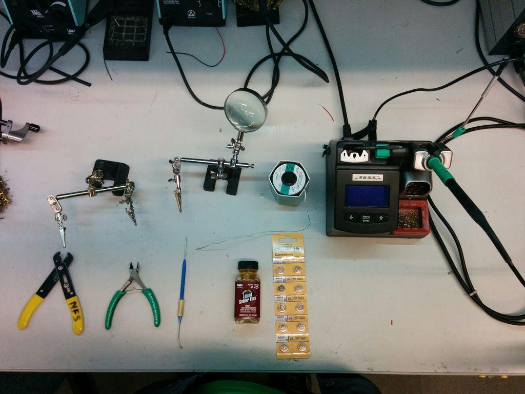 怎样直接焊接到电池