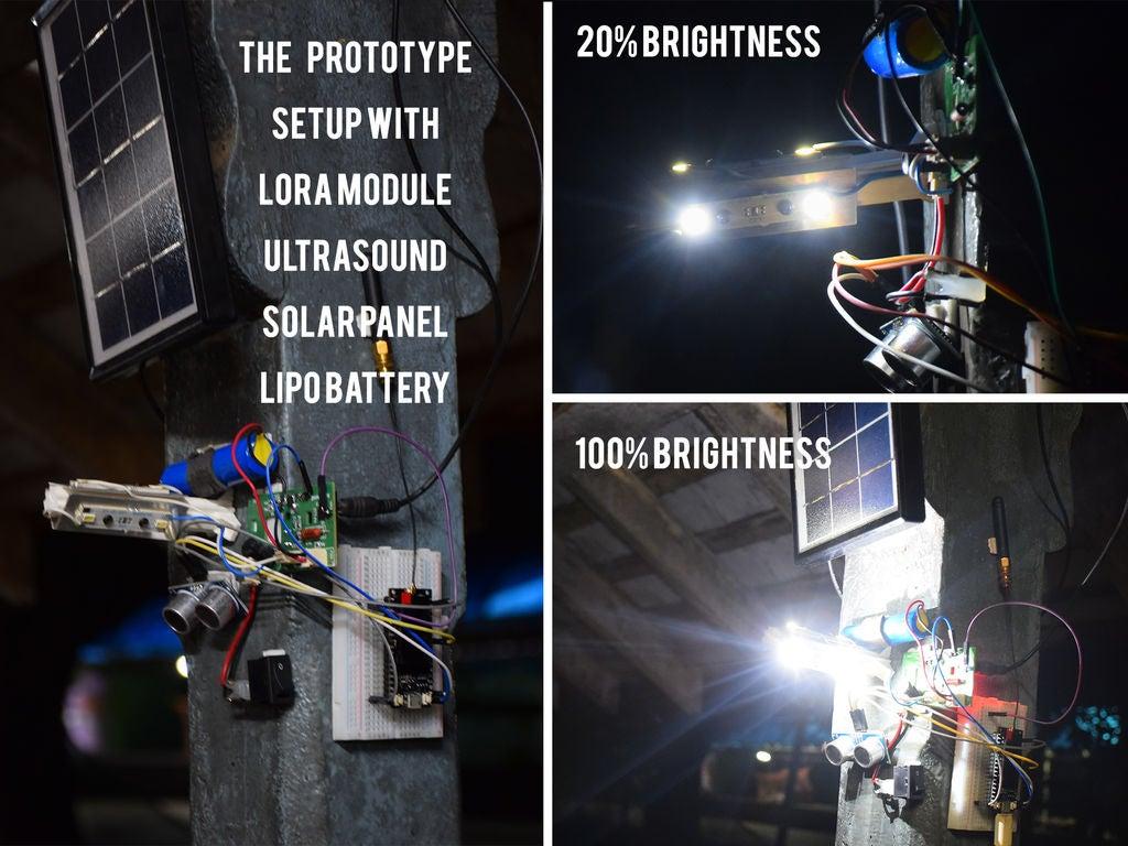 使用LoRa的智能路燈的制作
