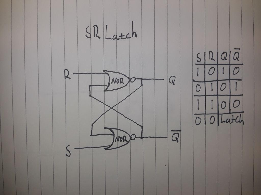 SR锁存晶体管DIY图解