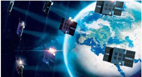 """25颗卫星组网的""""欧卫 你�x�_不�x�_天�星通低轨物联""""(ELO)星座试探大香蕉网站"""