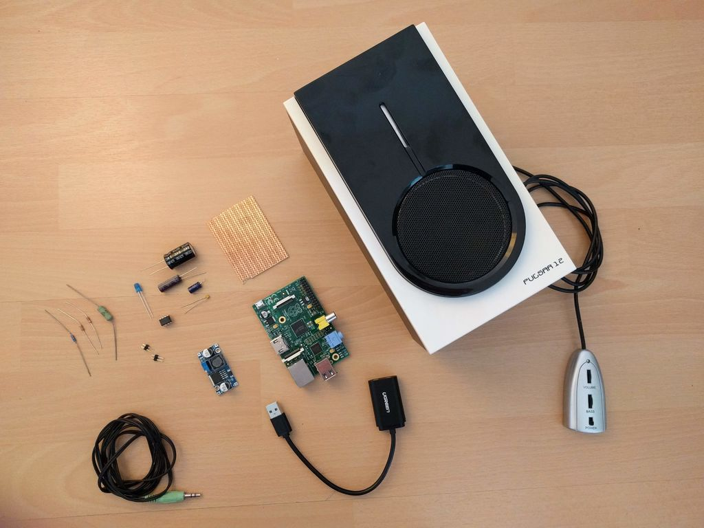 简易WI-FI扬声器DIY图解