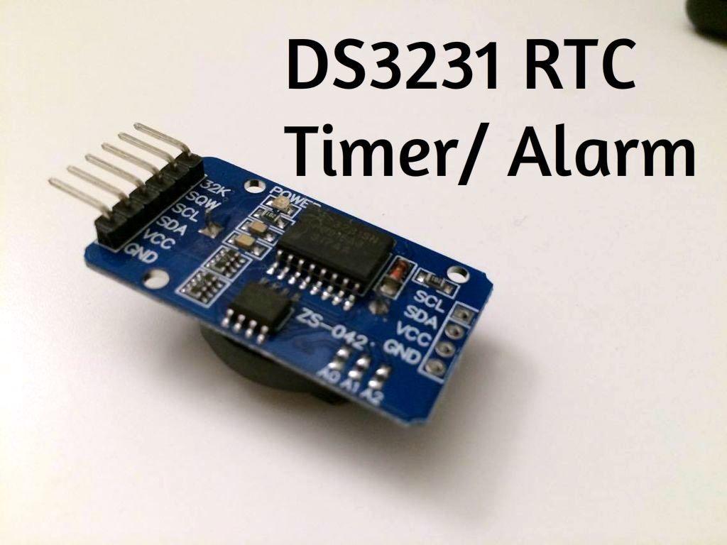 如何使用DS3231模块制作一个计时器