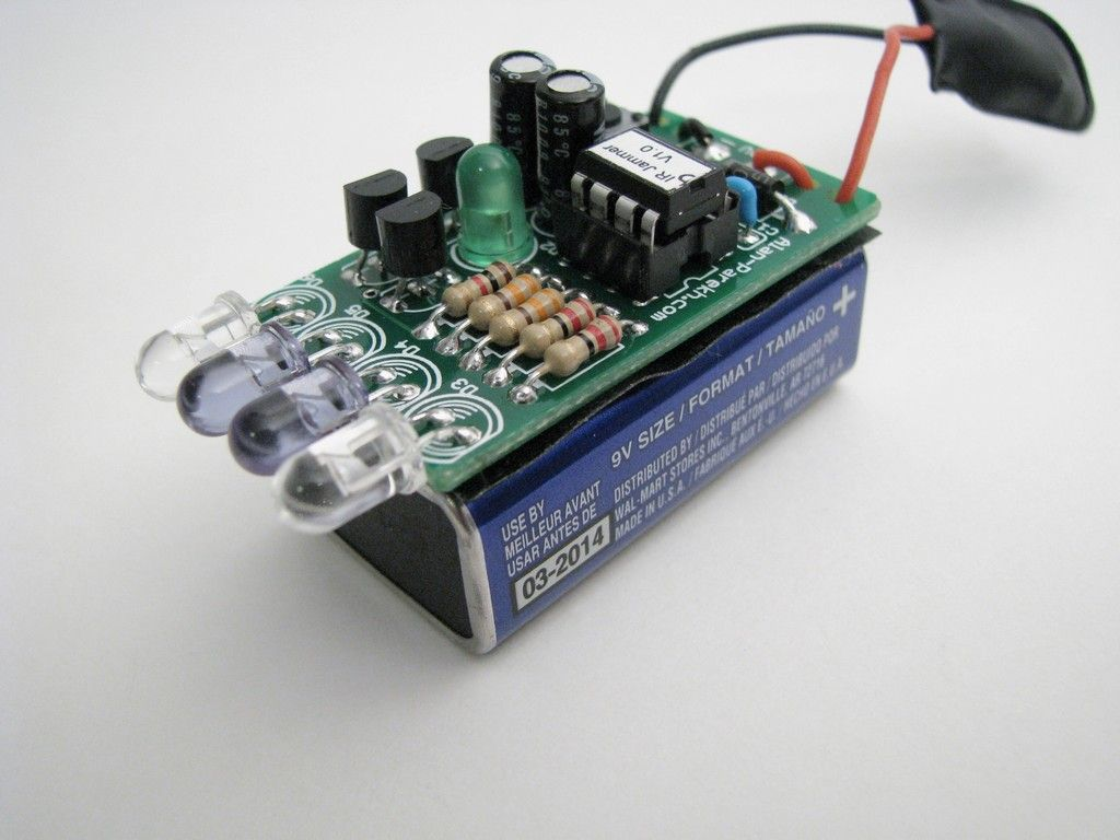 红外遥控干扰器的制作教程