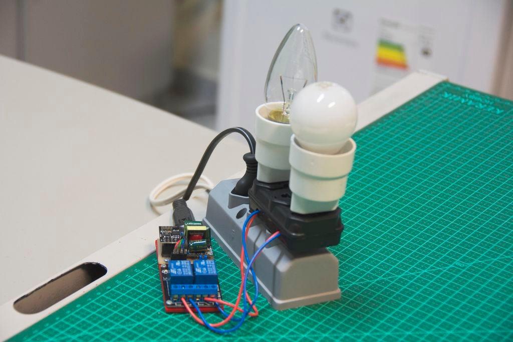 如何使用继电器实现ESP8266的自动化