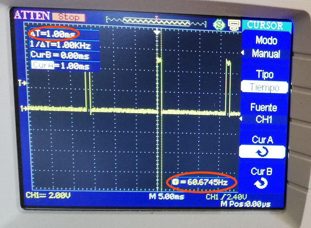 将控制信号发送到ESC并最终使直流无刷电机工作