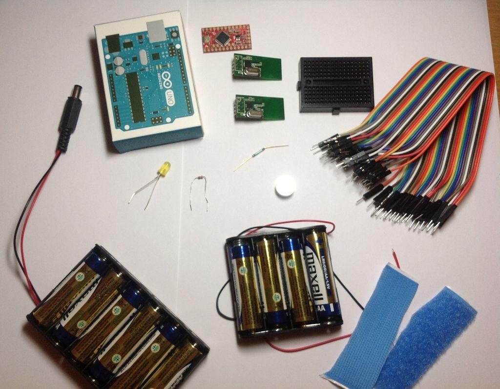 Arduino无线邮箱检测器设备的制作