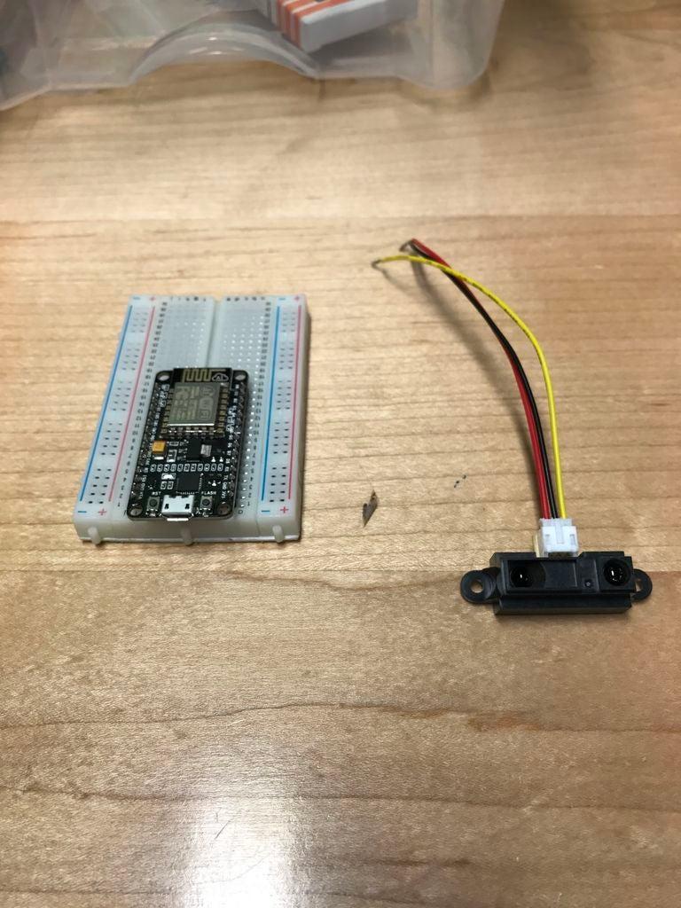 带NodeMCU的IOT红外传感器的制作图解